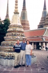 Raj with Mom and Dad in Southeast Asia