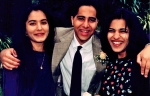 Raj with cousin Romy and sister Priya