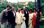Raj, Dad, Anand Uncle, Tuyet, Deepak, Nima Auntie, Papu Auntie and Priya