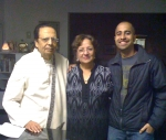 Raj with Mom and Lal Uncle